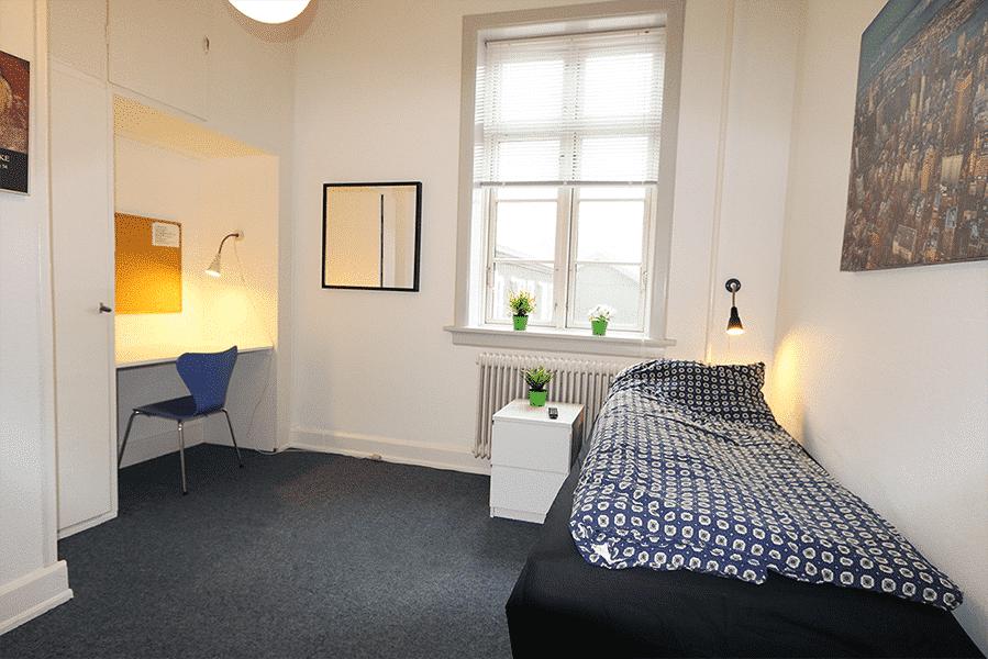 Et af de nye værelser